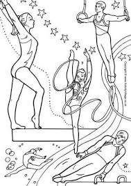 We found a picture of gymnastics to color. Gymnastics Colouring Page Gymnastics Crafts Sports Coloring Pages Olympic Crafts
