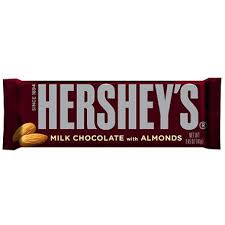 hershey almond candy bars. Perfect Almond Hershey Almond Candy Bar  36ct Inside Bars R