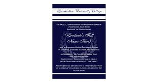Formal College Graduation Announcements Formal College Graduation Announcements Blue Zazzle Com
