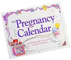 Pregnacy Clander Amazon Com Russ Berrie Pregnancy Calendar Discontinued By