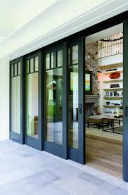 modern sliding glass patio doors. Exellent Modern Embrace The View With Pella Architect Series Multislide Patio Doors  Metal DoorsSliding Glass  To Modern Sliding Patio Doors