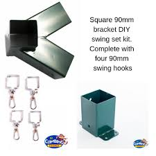 swing bracket diy kit 90x90mm wall