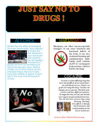 anti drug flyer shaquannarichardson advertisements