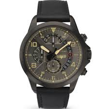 sky master chronograph grey dial black leather strap gents watch 7054 accurist sky master chronograph grey dial black leather strap gents watch 7054