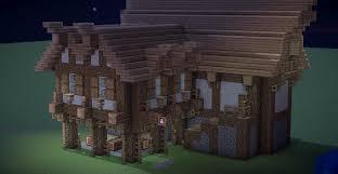 Minecraft Tavern Design Build Medieval Styled Tavern Inn