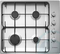 Westinghouse GHR12S Gas Cooktop Top VIew 4 home Pinterest