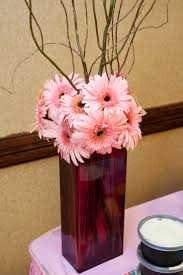 ... Magnificent Dining Table Decoration Design Tall Glass Flower Vase :  Impressive Ideas For Table Decorating Design ...
