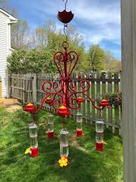40 creative diy chandelier hummingbird feeder ideas 12