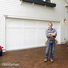 garage door opening on its ownGarage Door Makeover  Family Handyman