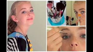 middle makeup tutorial perfect for the first day of