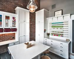 arts crafts home office. Denver Craft Area With Modern Baskets Home Office Transitional And White Quartz Ribbon Arts Crafts