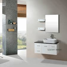 bathroom storage ideas for small bathrooms with no cabinets gray brick wall tile classic freestanding