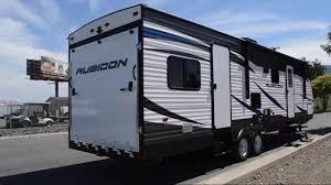 new 2019 dutchmen rv rubicon 311xlt toy hauler travel trailer at blue dog rv spokane valley wa 209207