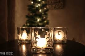 diy etched glass candle holders are such a great gift they re easy to