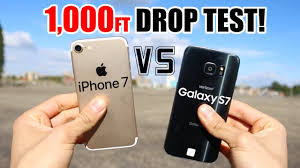apple iphone 100000000000. iphone 7 vs samsung galaxy s7 1000 ft drop test!! which one survived? - youtube apple iphone 100000000000