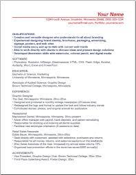 A Sample Copy Of Resume Resume Pdf Download