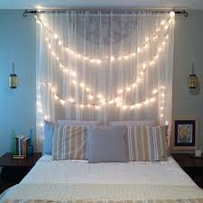 kitty otoole elegant whimsical bedroom: string lights look whimsical no matter where you hang them but when you combine their loveliness with the charm that any bedroom has you get a truly dream