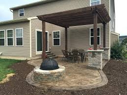 Stamped Concrete Patio Best Stamped Concrete Patios Ideas On Stamped