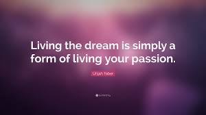 Quotes On Living The Dream