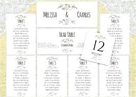 Wedding Table Planner Tool Wedding Seating Chart Template Excel Free 6 Templates