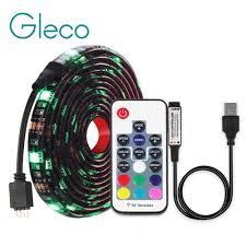 <b>DC5V USB LED</b> strip 5050 RGB RGBW RGBWW 50CM 1M 2M TV ...