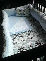 skull and bones bedding set regent skull crib set skull and crossbones comforter set
