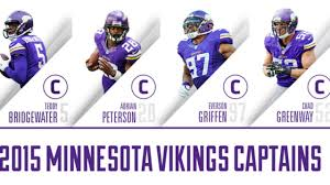 4 Norsemen Vikings Name Captains For 2015