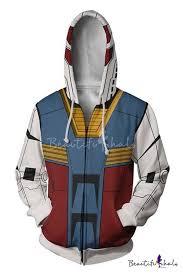 <b>Mobile Suit</b> Gundam New Stylish <b>3D</b> Colorblock Cosplay Costume ...
