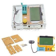 <b>LCR</b>-<b>T4 Mega328 Transistor</b> Tester Diode Triode Capacitance ESR ...