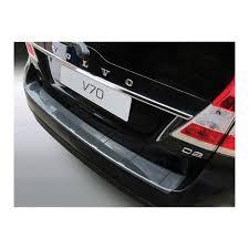 Abs Achterbumper Beschermlijst Volvo V70 62013 Excl Xc70 Ribbed Carbon Look