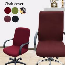 office armchair covers. Removable Stretch Swivel L/M/S/XS Computer Chair Covers Office  Armchair Comfortable Seat Slipcovers-in Cover From Home \u0026 Garden On Office Armchair Covers C