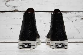 converse 70s hi black. have you had the chance to take a look at converse chuck taylor all star 70s embossed floral? not only does 70 manage stand out due hi black