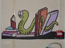 mural of the book worm mural statueurals dublin denver mural