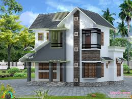 Small Picture Slope roof low cost home design Kerala home design and floor plans