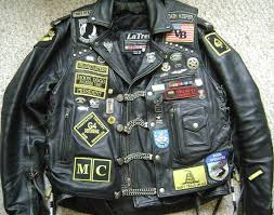 motorcycle vest patches images