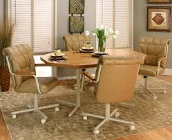 kitchen table and chairs with wheels. Full Size Of Kitchen Table:caster Dining Sets Best Quality - They Are Back In Table And Chairs With Wheels R