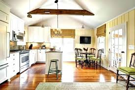 Vaulted ceiling wood beams Enlarge Wood Kitchen Ceiling Wood Beams In Kitchen Vaulted Ceiling Farmhouse With White Window Grids Wood Plank Kitchen Ceiling Wood Beam Ceiling Ideas Onedropruleorg Wood Kitchen Ceiling Wood Beams In Kitchen Vaulted Ceiling Farmhouse