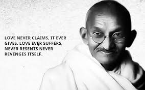 Gandhi Love Quotes Magnificent INSPIRATIONAL QUOTES BY MAHATMA GANDHI The Insider Tales