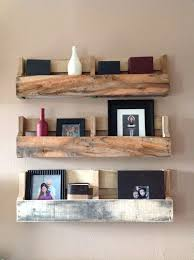 how to make pallet shelves. Reclaimed Pallet Shelves Set With How To Make