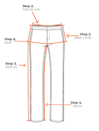 Hip Measurement Chart Sizing Guide