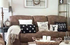 livingroom dark brown sofa color walls