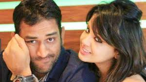 Image result for dhoni and sakshi