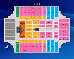 Fargodome Seating Chart Pink Fargodome Concert Seating Chart Related Keywords
