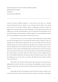 a rose for emily theme essay theme of death in william faulkners a rose for emily essay