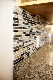 kitchen backsplash. DIY Linear Mosaic Tile Backsplash Kitchen