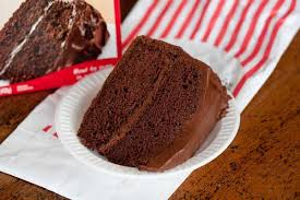 Split the batter evenly between the two cake pans. Portillos Chocolate Cake