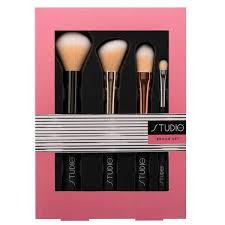 studio london 4 piece makeup brush set
