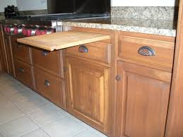 Cutting Board Cabinet Cabinets Varney Brothers Kitchen And Bath