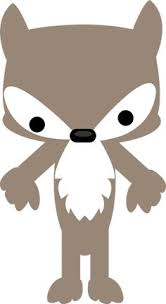 Image result for big bad wolf clipart