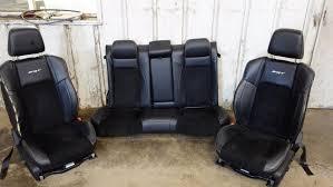 2016 2016 chrysler 300c srt srt8 oem leather suede seats full set front rear